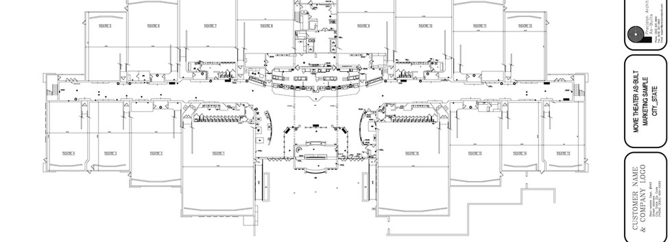 Main Level Floor Plan A1.0