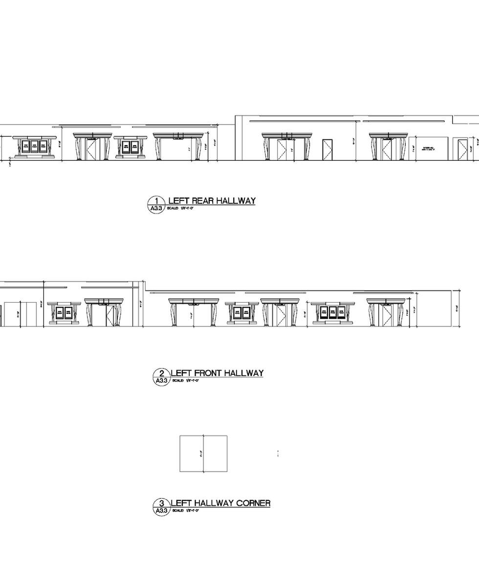 Interior Elevations A3.3