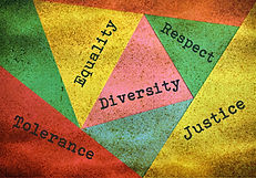 Concept about people diversity and toler