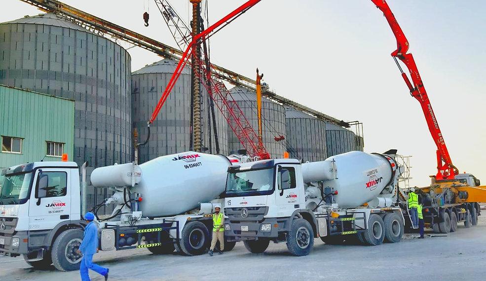 Construction | Sharjah | Jamix Ready Mix
