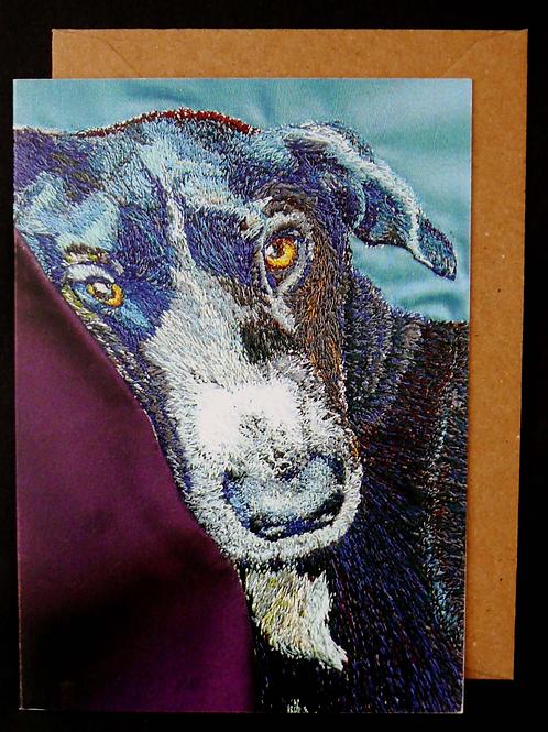 Luna Greetings Card