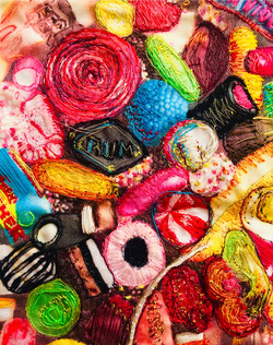 Sweets Embroidery Detail
