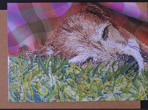 Ruby Greetings Card