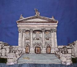 Tate Britain Freehand Machine Embroidery