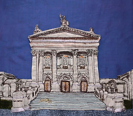 Tate Britain Freehand Machine Embroidery