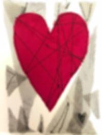 Valentine Card Sample Net Pink Heart Use