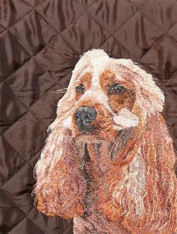Honey machine embroidery