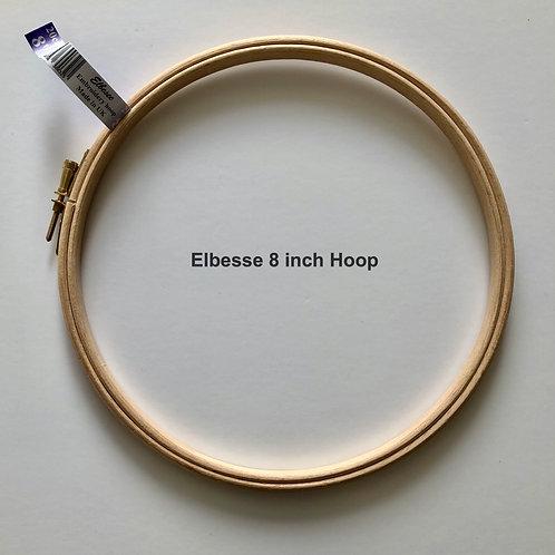 Elbesse 8inch Wooden Embroidery Hoop