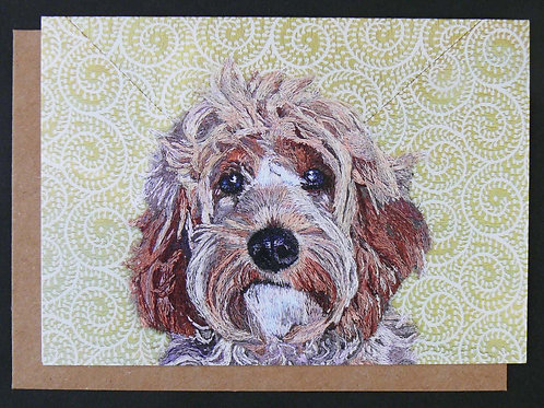 Miss Darcy Greetings Card