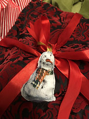 Snowman on Red Christmas Gift Bag.jpg