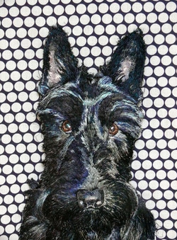 Bertie Machine Embroidery