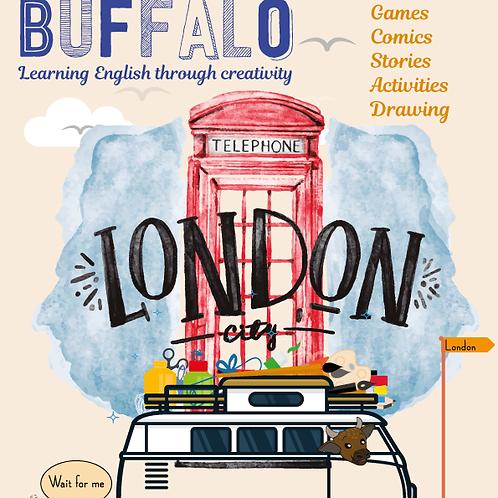DIGITAL LITTLE BUFFALO LONDON ISSUE