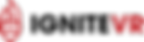 [LogoCombiLong Main Logo]IgniteVR_Red&Bl