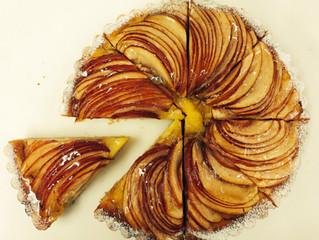優しい味の「リンゴのタルト」