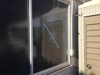 吉川市 南広島 ガラス修理後
