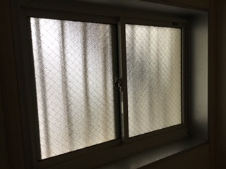 越谷市 七左町 ガラス修理後