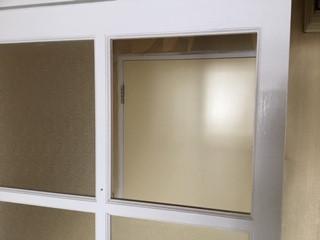 吉川市 中野 室内ガラスの修理・交換