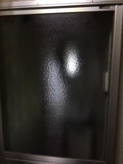 川口市 小谷場 ガラス修理後