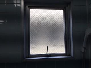 蕨市 中央 ガラス修理後