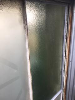 草加市 青柳 リピーター様のガラス修理後