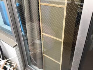 川口市 東領家 ガラス修理後