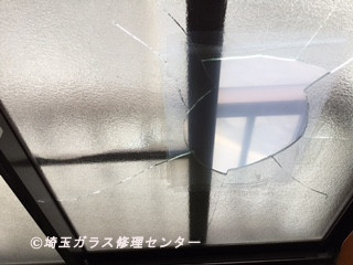 さいたま市 大宮区 大成町 窓ガラス修理・交換