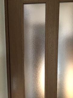 川口市 中青木 ガラス修理後