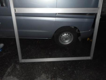 川口市 北原台緊急対応のガラス修理