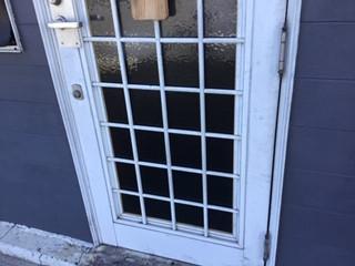 草加市 稲荷 ガラス修理後