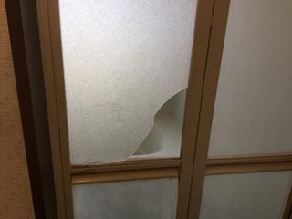 草加市 氷川町 浴室樹脂パネル作業前