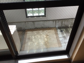 吉川市 新栄 ガラス修理後