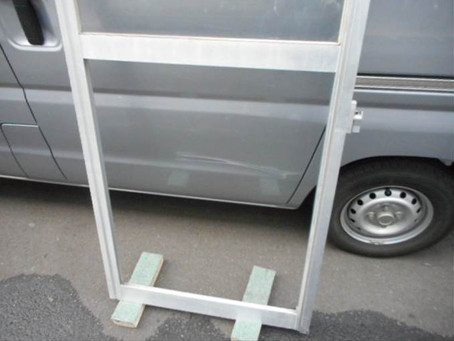 三郷市 早稲田 団地のガラス修理・交換