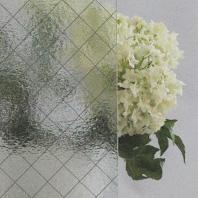 ⑤網入りくもりガラス画像