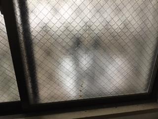 越谷市 南越谷 ヒビガラスの修理・交換