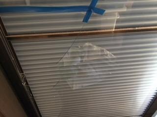 さいたま市 見沼区 風渡野 窓ガラスの修理・交換