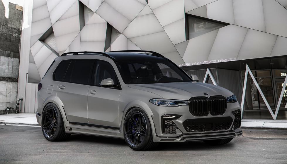 BMW X7 on Rusch R0440
