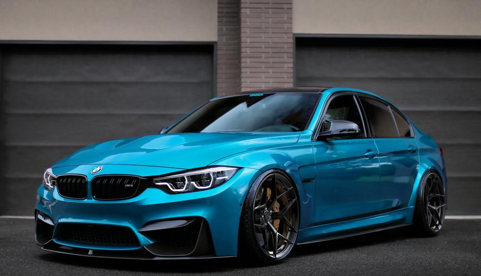 BMW M3 on Rusch R0770