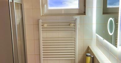 Standard Doppelzimmer Badezimmer