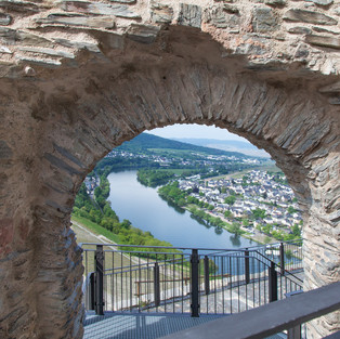Moselle panorama from Landshut Castle