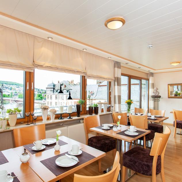 Frühstücksraum Moselhotel Weiskopf