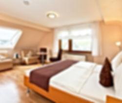 Hotelzimmer an der Mosel