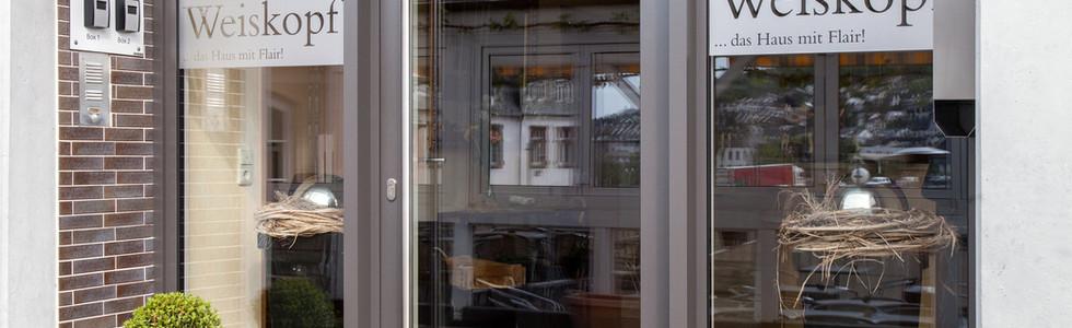 Hoteleingang - Moselhotel Weiskopf