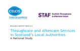 Scotland - Throughcare and Aftercare Services in Scotland's Local Authorities: A National Study