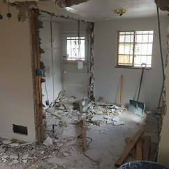 during demolition 4