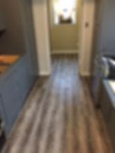 new flooring installed