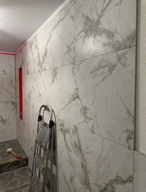 large format wall tile