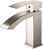 Single hole bathroom faucet examples (2)