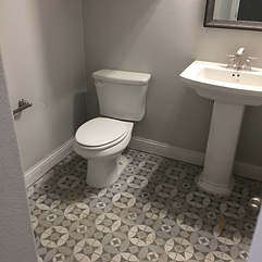 completed bathroom 4