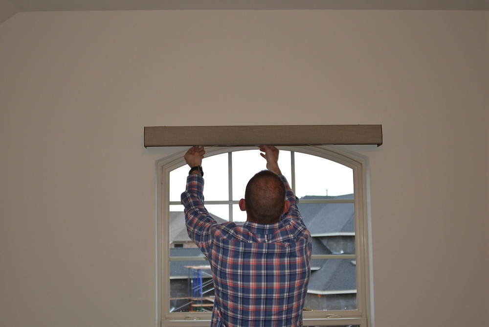 Valance Shown For A Roller Shade : Contour Valance