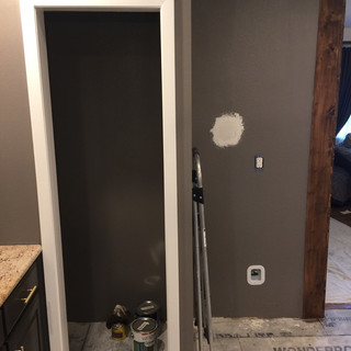 new pantry build out